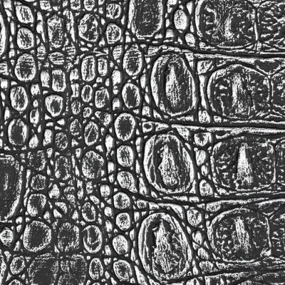Panou decorativ 13521 CROCO  piele de crocodil 3D Optic gri negru1