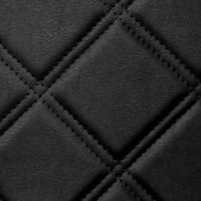 Panou decorativ 15030 ROMBO Checked Leather 3D Optics Negru1
