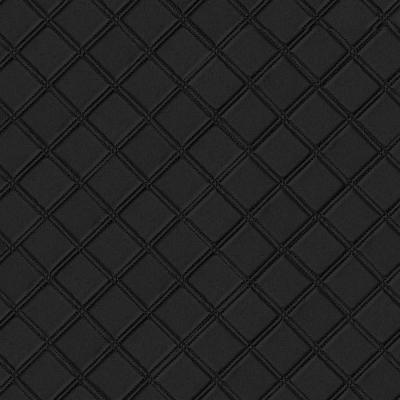 Panou decorativ 15030 ROMBO Checked Leather 3D Optics Negru0