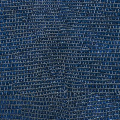 Panou decorativ 16986 LEGUAN imitație de piele iguana optică albastru1
