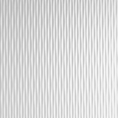 Panou decorativ 17043 MOTION ONE structuri de undă din plastic optică 3D alb [1]