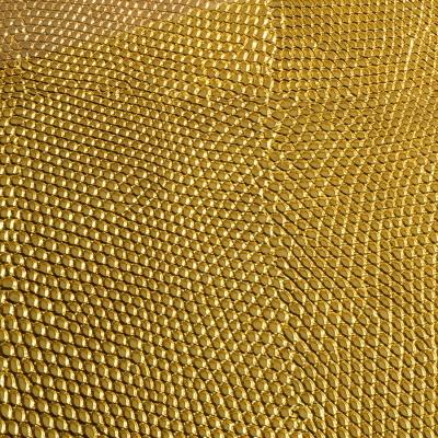 Panou decorativ17016 PEARL RAY piele de reptile ,culoare auriu1