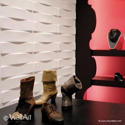 PANOURI DECORATIVE 3D VAULTS, WALLART, 12 PLACI 50X50CM [0]
