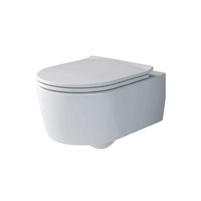 Set vas WC suspendat  Villeroy & Boch, Avento Soul , cu capac soft close, quick release,Direct Flush, alb 4656HR010