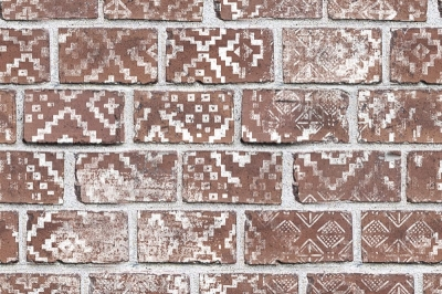 Tapet R15231- Decorated Bricks0