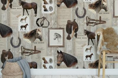 Tapet R15551-Horse Mania2