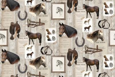 Tapet R15551-Horse Mania0