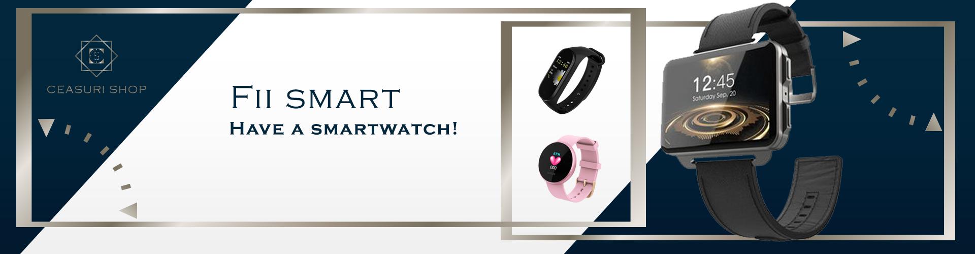 Ceas smartwatch bratari fitness