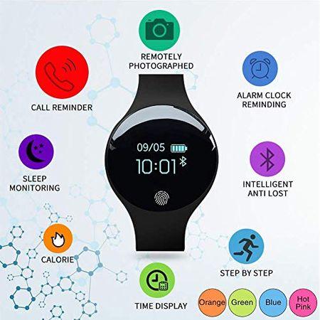 Bratara fitness, inteligenta dama, Sanda, OLED, Ritm cardiac, GPS, Bluetooth 4.0, Ecran 0.66 INCH, Pedometru, Alerta sedentarism, Monitorizare somn, Baterie Li-Ion, IOS/Android 3