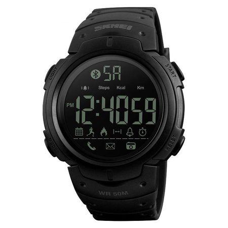 Ceas Smartwatch barbatesc, Skmei, Bluetooth, Pedometru, Afisaj Digital, Calorii, Sport, notificari 1