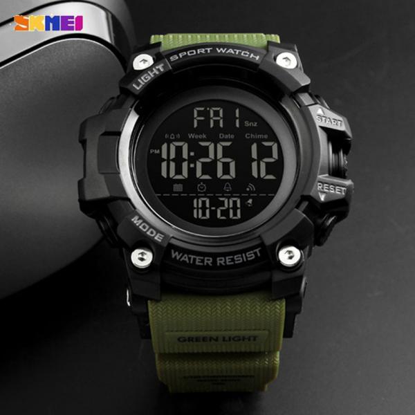 Ceas barbatesc Militar Army Cronograf Sport Digital Rezistent la apa si socuri [4]
