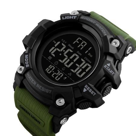 Ceas barbatesc Militar Army Cronograf Sport Digital Rezistent la apa si socuri [0]