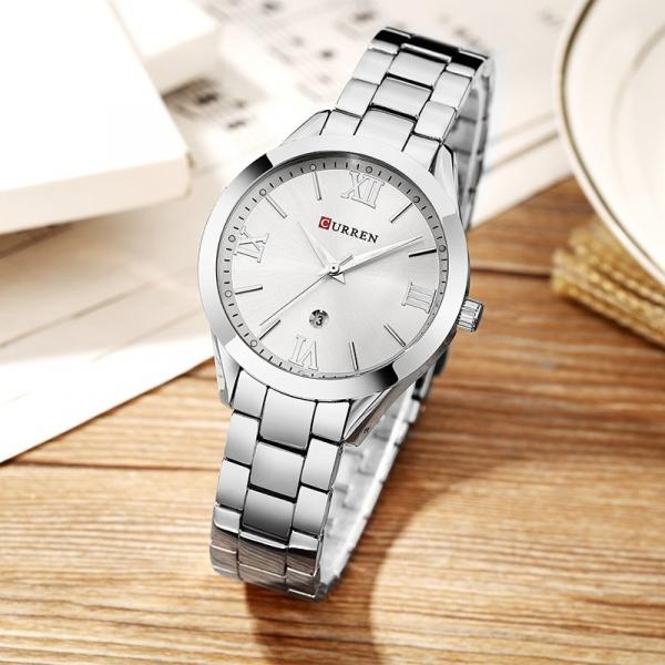 Ceas de dama elegant, Curren, Quartz, Fashion, Quartz, Otel inoxidabil 2