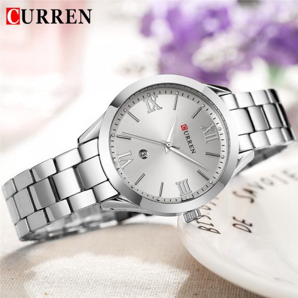 Ceas de dama elegant, Curren, Quartz, Fashion, Quartz, Otel inoxidabil 3