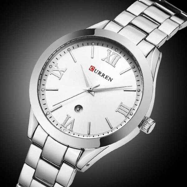 Ceas de dama elegant, Curren, Quartz, Fashion, Quartz, Otel inoxidabil 4