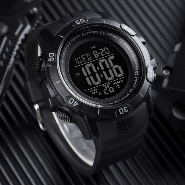 Ceas de mana barbatesc Sport Digital Militar Cronograf 2