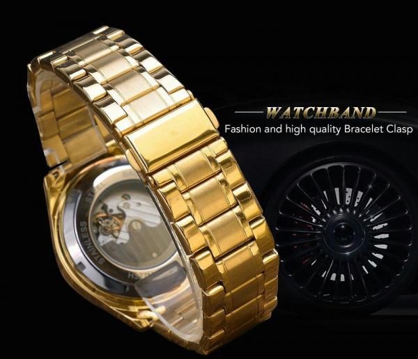 Ceas mecanic automatic, Self Wind, 2020, Fashion, Casual, Top Brand Luxury 11