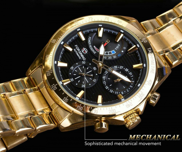 Ceas mecanic automatic, Self Wind, 2020, Fashion, Casual, Top Brand Luxury 8