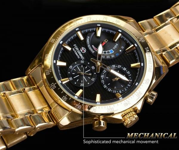 Ceas mecanic automatic, Self Wind, 2020, Fashion, Casual, Top Brand Luxury 8