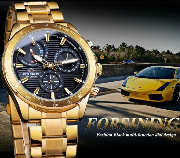 Ceas mecanic automatic, Self Wind, 2020, Fashion, Casual, Top Brand Luxury 10