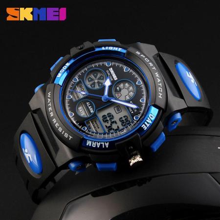 Ceas pentru baieti, Digital, Sport, Analog, Dual Time, Cronometru, Alarma, Calendar 3