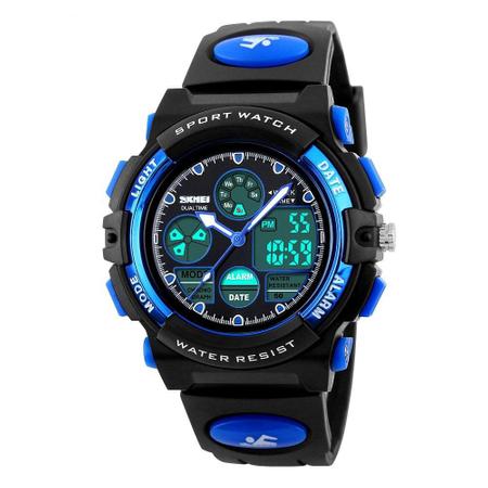 Ceas pentru baieti, Digital, Sport, Analog, Dual Time, Cronometru, Alarma, Calendar 1