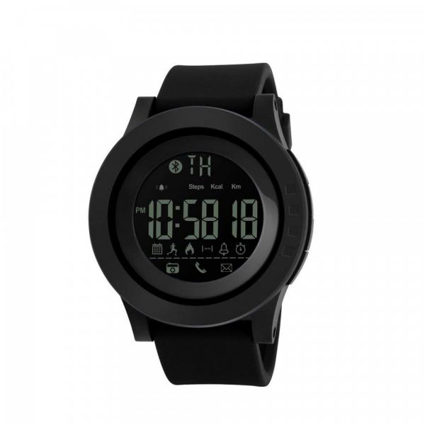 Ceas smartwatch Skmei 1255, Pedometru, Calorii, Distanta, Bluetooth, Buton Fotografiere 1