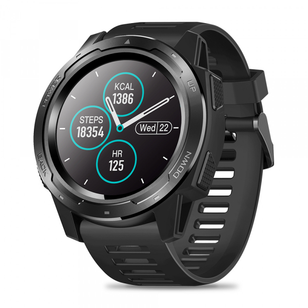Ceas smartwatch Zeblaze 5 Pro, 1.3 Inch, Ecran Touch Screen, Monitorizeaza bataile inimii, Activitati sportive 0