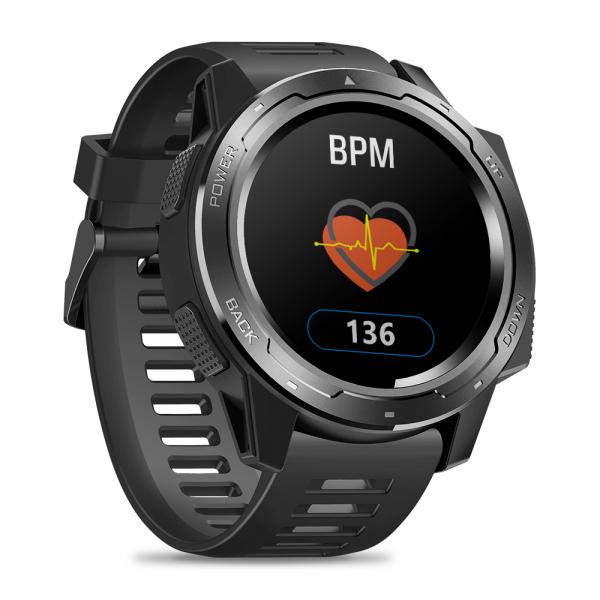 Ceas smartwatch Zeblaze 5 Pro, 1.3 Inch, Ecran Touch Screen, Monitorizeaza bataile inimii, Activitati sportive 5