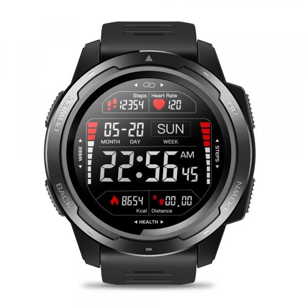 Ceas smartwatch Zeblaze 5 Pro, 1.3 Inch, Ecran Touch Screen, Monitorizeaza bataile inimii, Activitati sportive 6