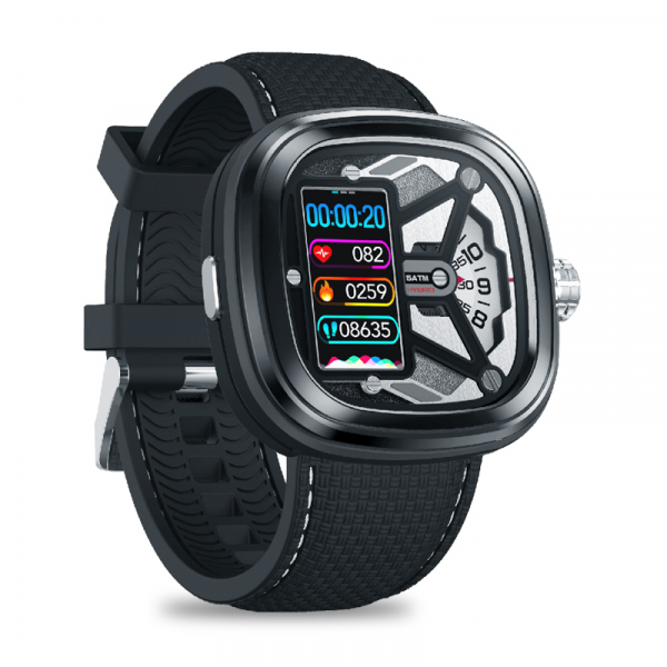 Ceas smartwatch mecanic Zeblaze Hybrid 2, Monitorizeaza sanatatea si activitatea fitness 6