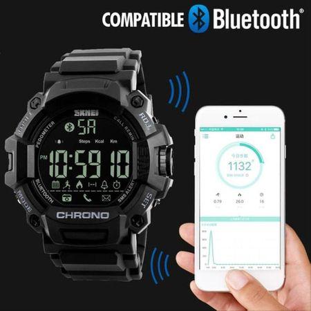 Ceas smartwatch sport, Bluetooth, Pedometru, Calorii [2]