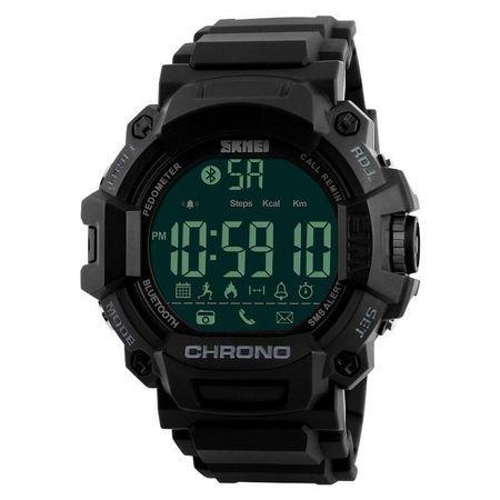 Ceas smartwatch sport, Bluetooth, Pedometru, Calorii [0]