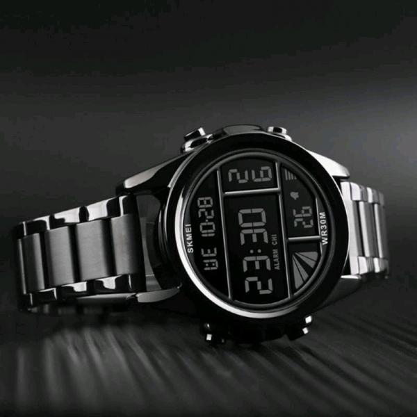 Skmei Ceas barbatesc Fashion Luxury Digital Otel inoxidabil 2