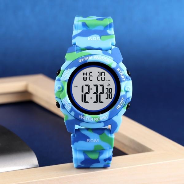 Skmei Ceas copii Digital Cronometru Alarma Calendar Zilele saptamanii [3]