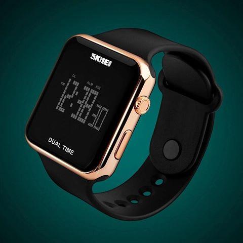 Skmei Ceas dama Sport Digital Alarma Calendar Complet [2]
