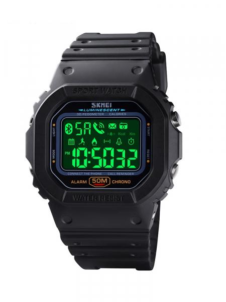 Skmei Ceas smartwatch inteligent Bluetooth Sport Fitness Tracker Led 1