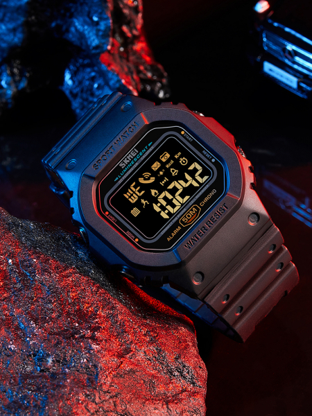 Skmei Ceas smartwatch inteligent Bluetooth Sport Fitness Tracker Led 2