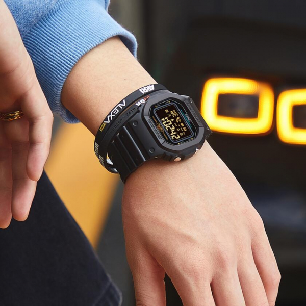 Skmei Ceas smartwatch inteligent Bluetooth Sport Fitness Tracker Led 3