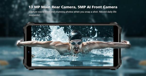 Telefon mobil, Smartphone Oukitel WP5 Pro, Android 10, 4G, 4GB RAM, 64GB ROM, IPS 5.5, Helio A25 OctaCore, Waterproof, 8000mAh, Dual SIM 17