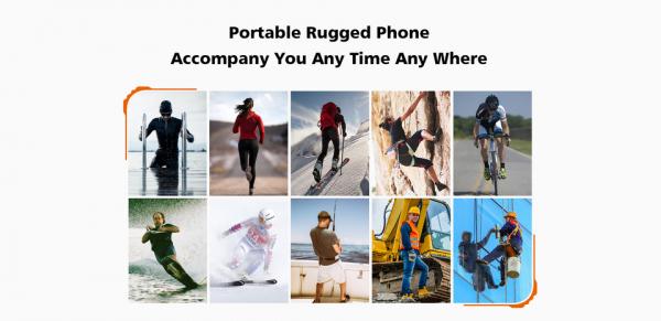 Telefon mobil, Smartphone Oukitel WP5 Pro, Android 10, 4G, 4GB RAM, 64GB ROM, IPS 5.5, Helio A25 OctaCore, Waterproof, 8000mAh, Dual SIM 5