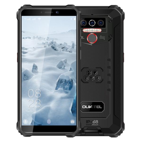 Telefon mobil, Smartphone Oukitel WP5 Pro, Android 10, 4G, 4GB RAM, 64GB ROM, IPS 5.5, Helio A25 OctaCore, Waterproof, 8000mAh, Dual SIM 1