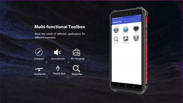 Telefon mobil, Smartphone Oukitel WP5 Pro, Android 10, 4G, 4GB RAM, 64GB ROM, IPS 5.5, Helio A25 OctaCore, Waterproof, 8000mAh, Dual SIM 13