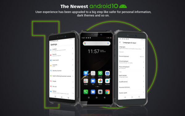 Telefon mobil, Smartphone Oukitel WP5 Pro, Android 10, 4G, 4GB RAM, 64GB ROM, IPS 5.5, Helio A25 OctaCore, Waterproof, 8000mAh, Dual SIM 14