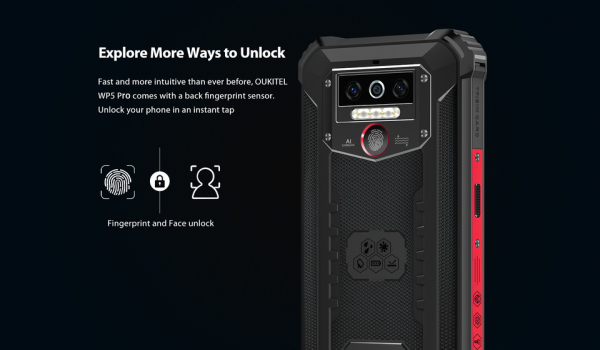 Telefon mobil, Smartphone Oukitel WP5 Pro, Android 10, 4G, 4GB RAM, 64GB ROM, IPS 5.5, Helio A25 OctaCore, Waterproof, 8000mAh, Dual SIM 15