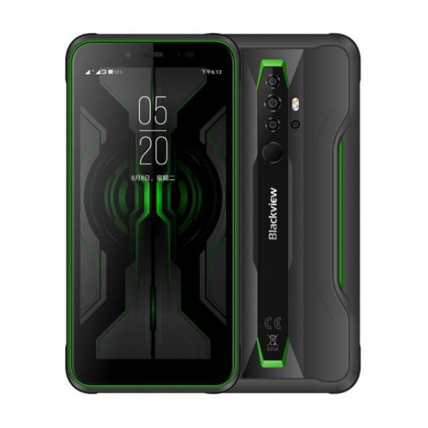 Telefon mobil Blackview BV6300 PRO, Android 10, 4G, Bateria 4380 mAh, Ecran IPS 5.7'', Procesor Helio P70 OctaCore, Dual SIM, RAM 6GB, ROM 128GB, Baterie 4380mAh, 16 Milioane Culori, Giroscop, GPS, Negru 9