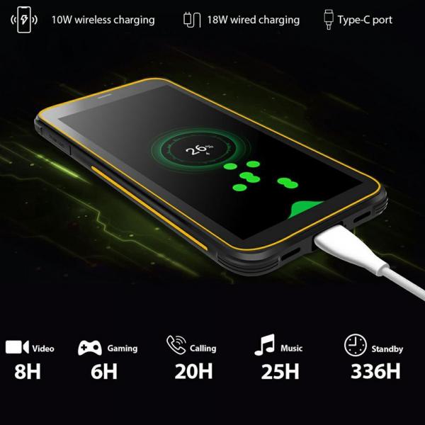 Telefon mobil Blackview BV6300 PRO, Android 10, 4G, Bateria 4380 mAh, Ecran IPS 5.7'', Procesor Helio P70 OctaCore, Dual SIM, RAM 6GB, ROM 128GB, Baterie 4380mAh, 16 Milioane Culori, Giroscop, GPS, Negru 13