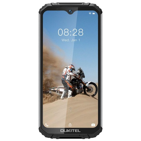 Telefon mobil Oukitel WP6, Face ID, Dual SIM, Baterie 10000mAh, Android Q, Display IPS 6.3 inch, 6 GB RAM, 128 GB ROM, OctaCore, ipx68, Negru argintiu 0