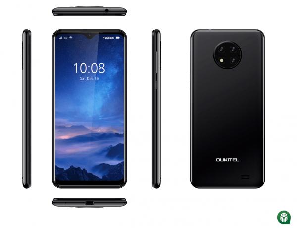 Telefon mobil Smartphone Oukitel C19, Android 10 GO 4G, IPS 6.49, 2GB RAM, 16GB ROM, MTK6737 QuadCore, 4000mAh, Dual SIM 0