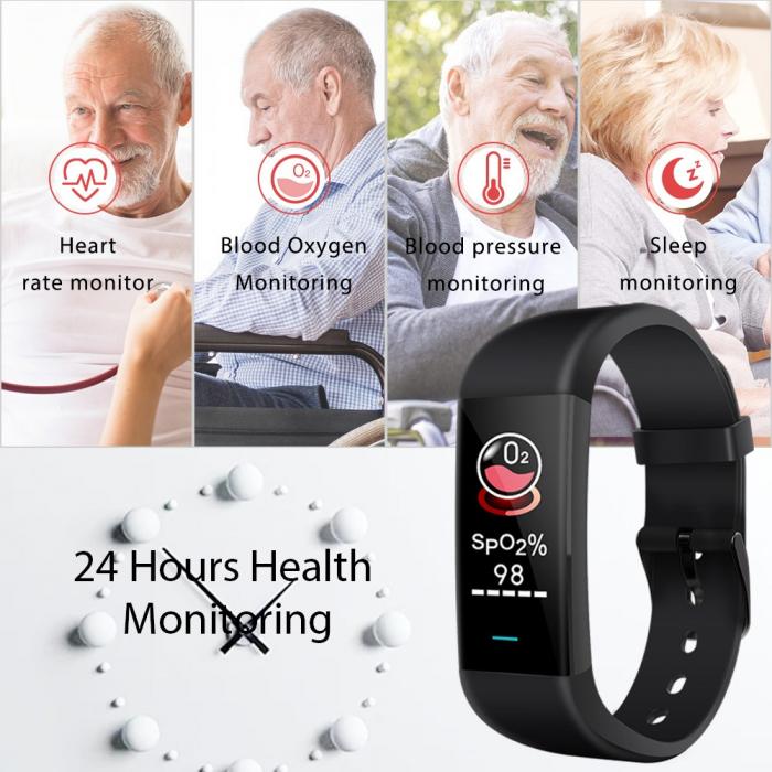 Bozlun Bratara medicala inteligenta Monitorizarea oxigenului din sange (2) [4]